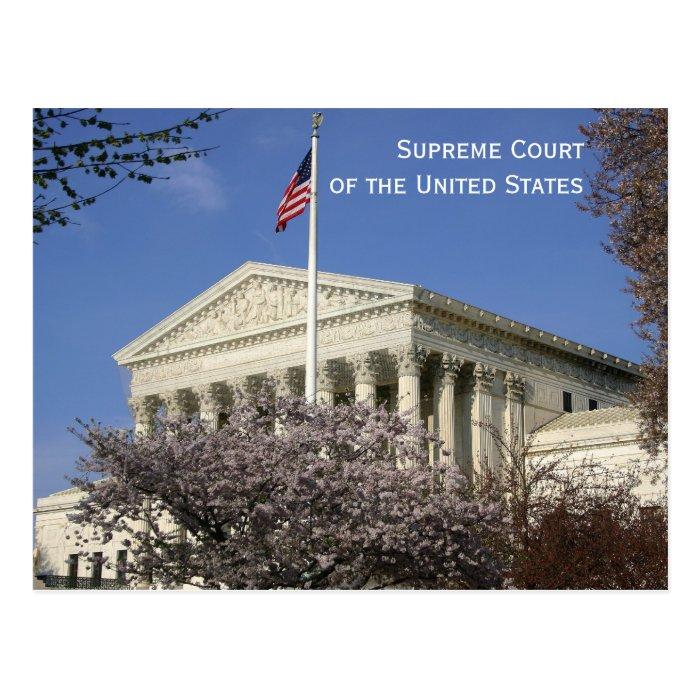 Washington, DC: The Supreme Court Postcard