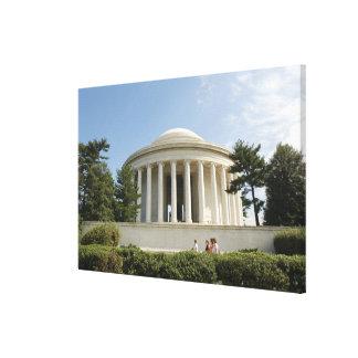 Washington, DC. Thomas Jefferson Memorial Stretched Canvas Print