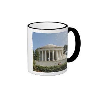 Washington, DC. Thomas Jefferson Memorial Ringer Mug