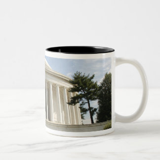 Washington, DC. Thomas Jefferson Memorial Two-Tone Coffee Mug