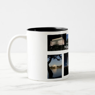 Washington DC Two-Tone Coffee Mug