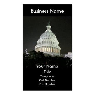 Washington DC US Capitol Business Card