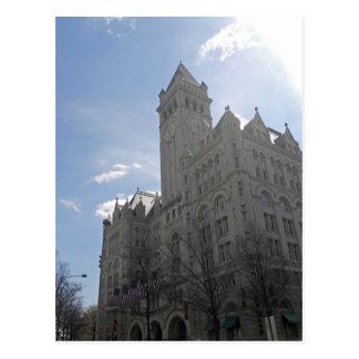 Washington DC viejo 001 de la torre de la oficina  Tarjetas Postales