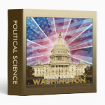 Washington DC Vinyl Binder