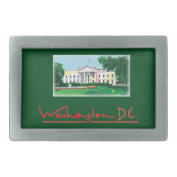 Washington DC - White House Belt Buckle