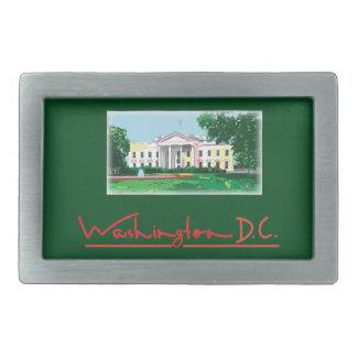 Washington DC - White House Belt Buckle