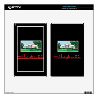 Washington DC - White House Decal For Kindle Fire
