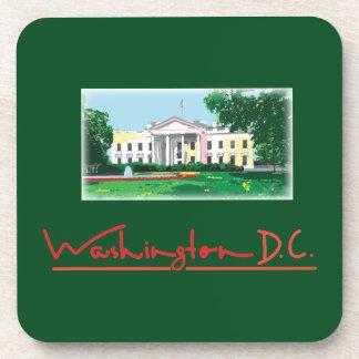 Washington DC - White House Drink Coaster