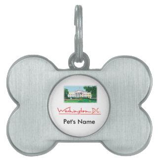 Washington DC - White House Pet ID Tag