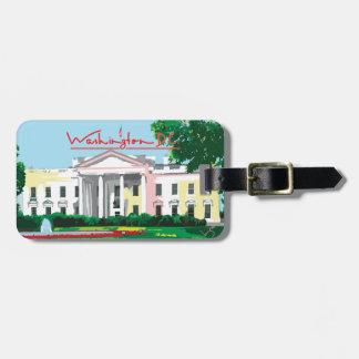 Washington DC - White House Tag For Luggage