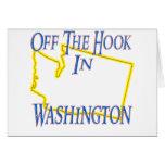 Washington - del gancho felicitación