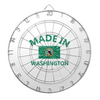 WASHINGTON Designs Dartboard With Darts