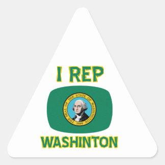 Washington Designs Triangle Sticker