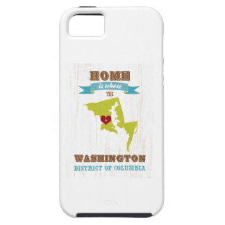 Washington, District of Columbia - Home Is Where iPhone 5 Covers