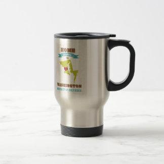 Washington, District of Columbia - Home Is Where Travel Mug