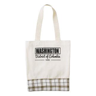 Washington District of Columbia Zazzle HEART Tote Bag