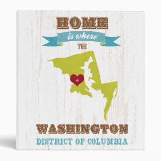 Washington distrito de Columbia - casero es donde