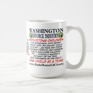 Washington Divorce Industry. Mugs