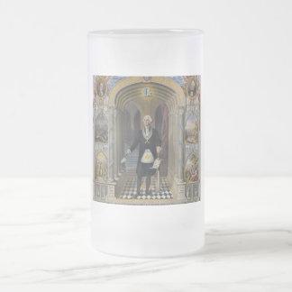 Washington el albañil II Taza De Cristal