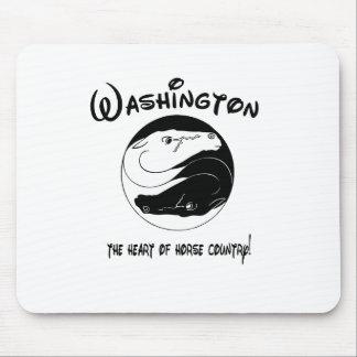 Washington, el corazón del país del caballo tapete de ratón