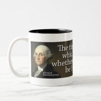 Washington: El tiempo está cerca de a mano que… Taza De Café