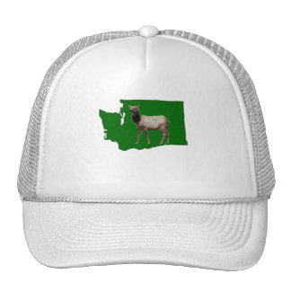 Washington Elk Trucker Hat