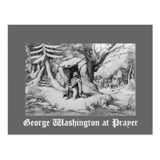 Washington en el rezo postal