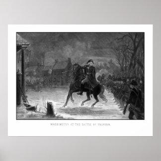 Washington en la batalla de Trenton Póster