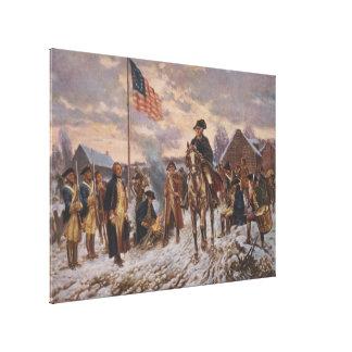 Washington en la fragua del valle de Edward Percy Lona Estirada Galerías