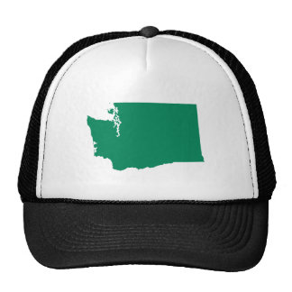Washington en verde gorro de camionero