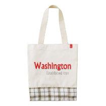 Washington Established Zazzle HEART Tote