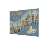 Washington (estado) - escenas grandes 4 de la letr lienzo envuelto para galerias
