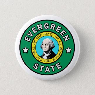 Washington Evergreen State button