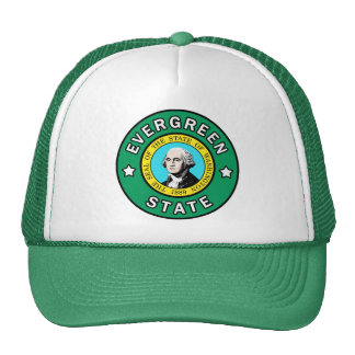Washington Evergreen State hat