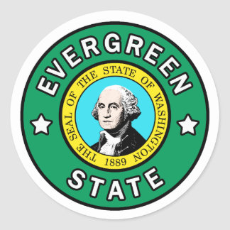 Washington Evergreen State sticker
