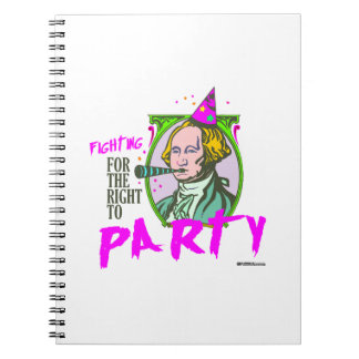 Washington - Fighting for the Right to Party Notebook