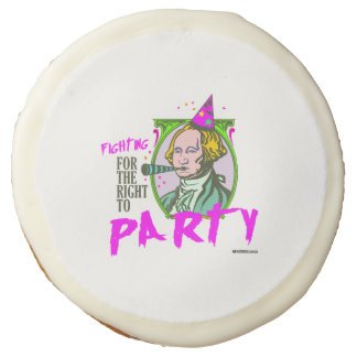 Washington - Fighting for the Right to Party Sugar Cookie