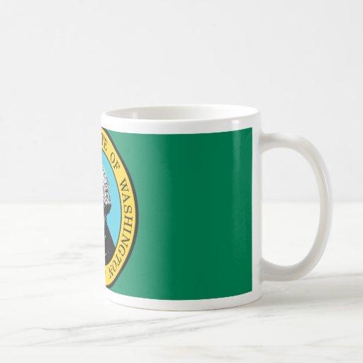 Washington Flag Coffee Mugs