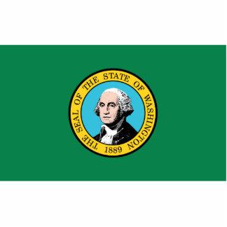 Washington Flag Magnet Cut Out