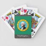 Washington Flag Playing Cards Bicycle Playing Cards