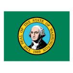 Washington Flag Postcard