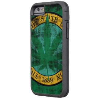 Washington Flag Pot Leaf Grunge Tough Xtreme iPhone 6 Case