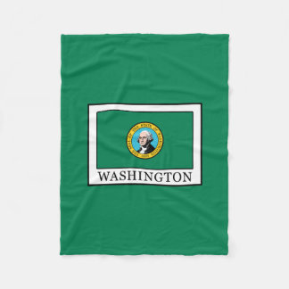 Washington Fleece Blanket
