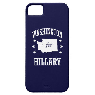 WASHINGTON FOR HILLARY iPhone 5 CASES