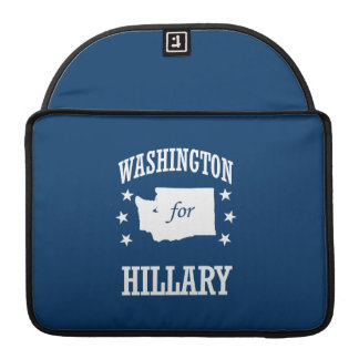 WASHINGTON FOR HILLARY SLEEVES FOR MacBook PRO