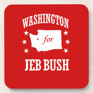 WASHINGTON FOR JEB BUSH DRINK COASTERS