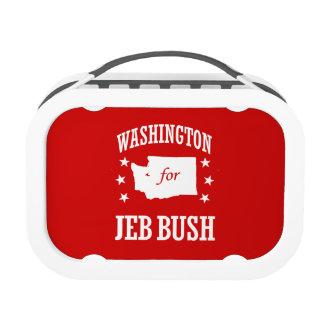 WASHINGTON FOR JEB BUSH YUBO LUNCH BOX