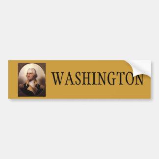 Washington for President Bumper Sticker