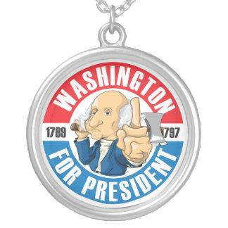 Washington For President Necklace