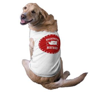 WASHINGTON FOR RUBIO DOG T-SHIRT